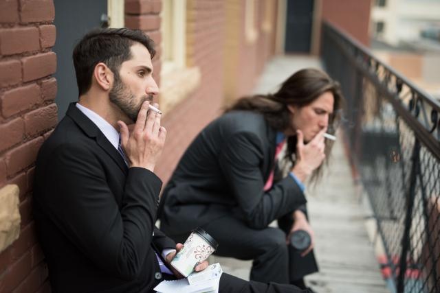 フランチャイズの全面禁煙は常識